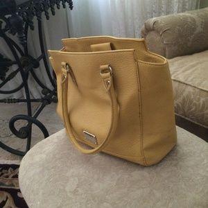 Nine West Yellow tote bag